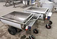 Ванна кормовая с электроприводом 250 литров