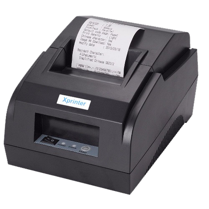 Чековый принтер Xprinter XP58 IIL Bluetooth, фото 2