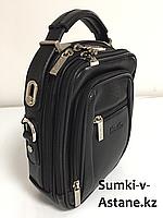 Мужская деловая сумка Cantlor через плечо. Высота 25 см, ширина 20 см, глубина 9 см., фото 1
