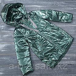 Куртка в изумрудной расцветке