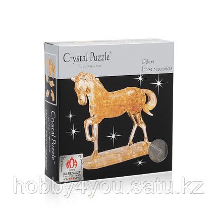 3D головоломка Лошадь золотая, фото 2