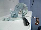 Лебедка барабанная 1тонна  20метров ручная, фото 2