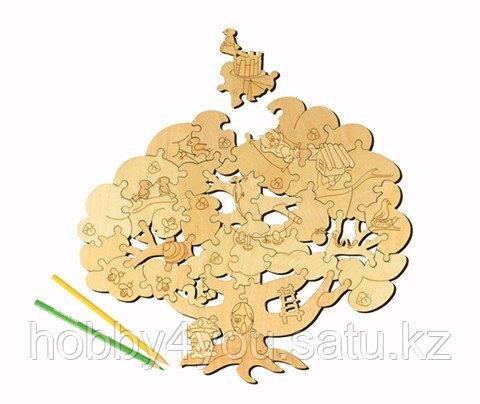 Деревянный пазл Woody Чудесное дерево, фото 2