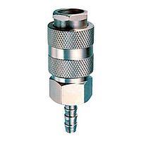 Разъемное соединение рапид (муфта) Fubag, елочка 8мм с обжимным кольцом 8х13мм