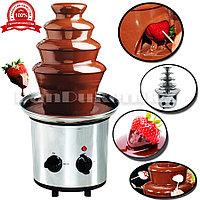 Шоколадный фонтан 4 яруса Фонтан из шоколада