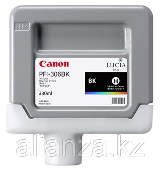 Картридж Canon PFI-306BK Black 330 мл (6657B001)