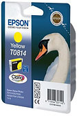 Картридж с желтыми чернилами повышенной емкости Epson T0814 (C13T11144A10)