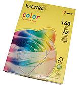Бумага Maestro Color 160 г/м2, 297x420 мм пастель