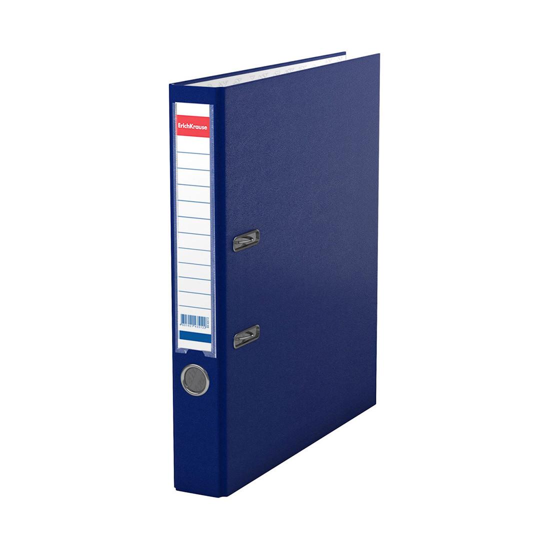 Папка–регистратор с арочным механизмом ErichKrause Granite (50 мм, А4, Синий)