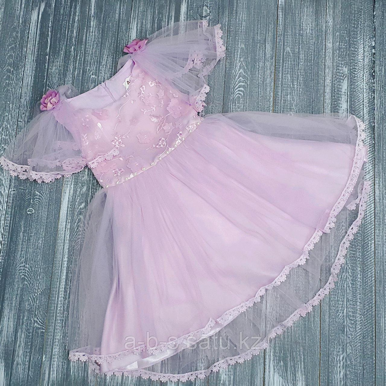 Платье лиловое