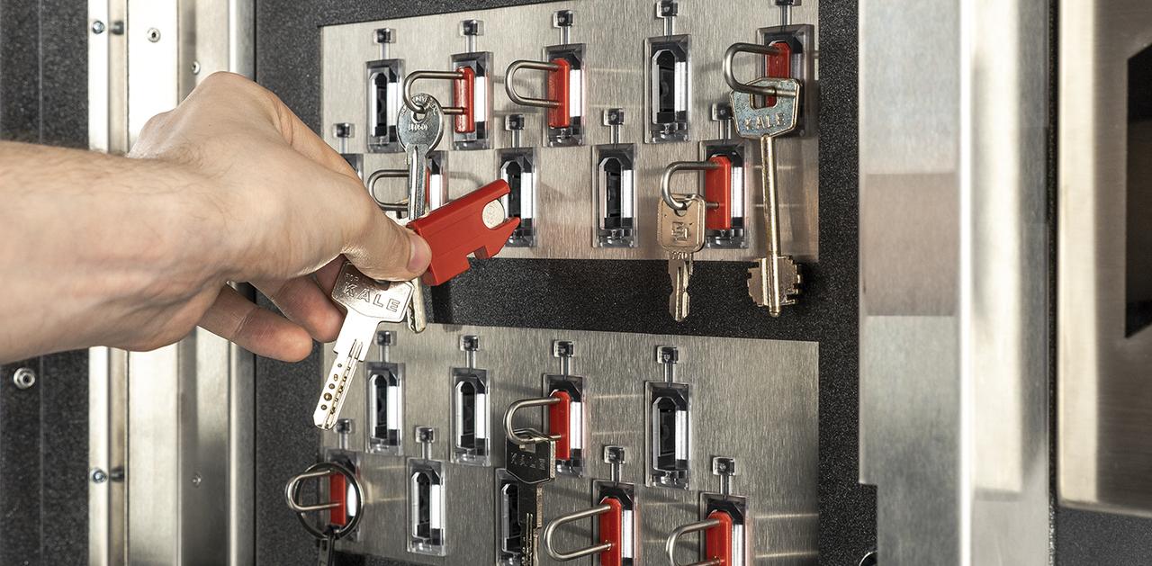 Лицензия на использование 1 слота интегрированной ключницы KeyGuard