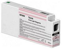 Картридж Epson T8246 Vivid Light Magenta 350 мл (C13T824600)