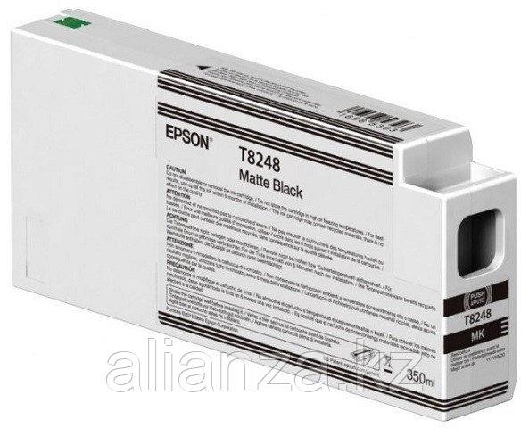 Картридж Epson T8248 Matte Black 350 мл (C13T824800)