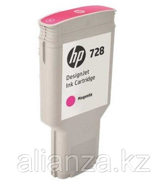 Картридж HP DesignJet 728 Magenta 300 мл (F9K16A)