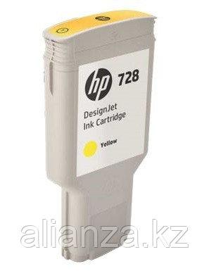 Картридж HP DesignJet 728 Yellow 300 мл (F9K15A)