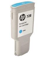 Картридж HP DesignJet  728 Cyan 300 мл (F9K17A)