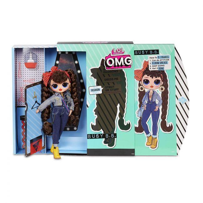 ЛОЛ ОМГ 2 серия Высокая Кукла Техно-Леди (Busy B.B.), ЛОЛ Сюрприз