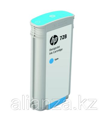 Картридж HP DesignJet 728 Cyan 130 мл (F9J67A)
