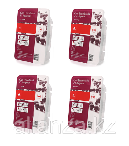 Набор картриджей Oce ColorWave 500 Magenta 4x500 гр (39805003)