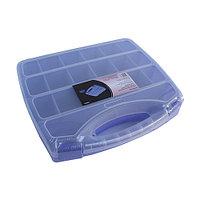 930524 Органайзер для хранения с 20 регулируемыми отделениями, 30.5*25.5*6см Hobby&Pro