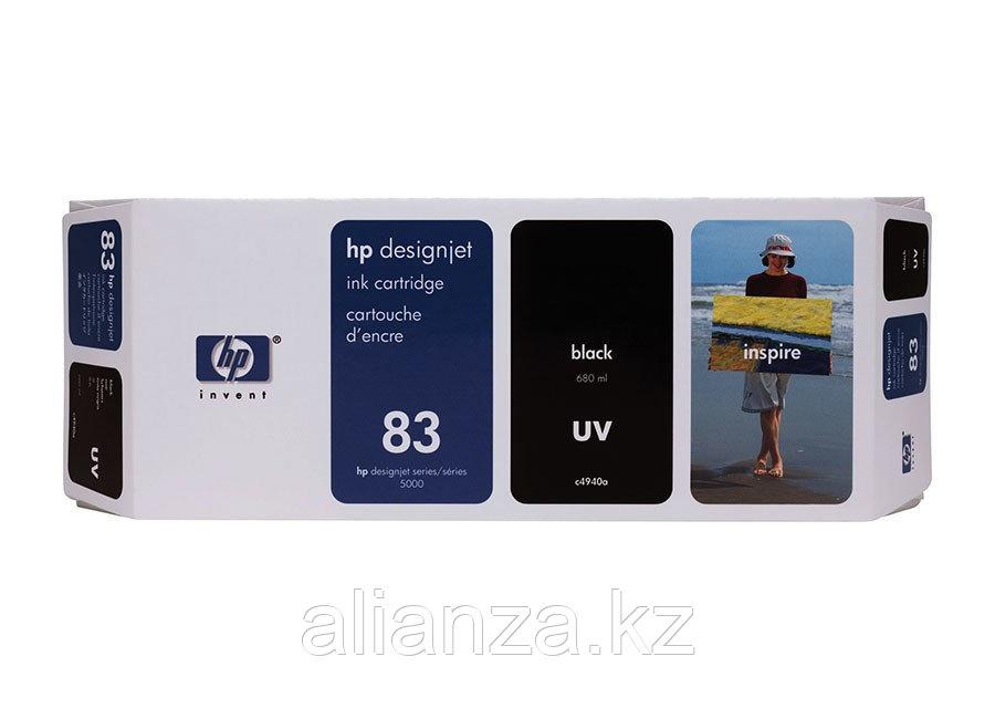 Картридж HP DesignJet 83 Black 680 мл (C4940A)