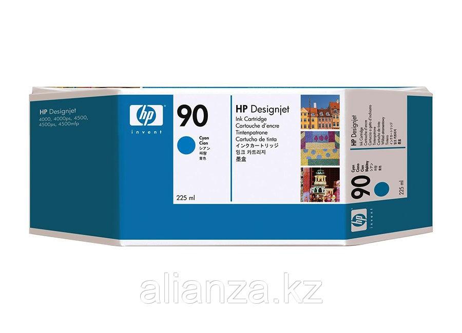 Картридж HP DesignJet 90 Cyan 225 мл (C5060A)