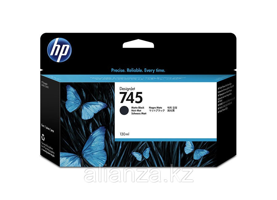 Картридж HP DesignJet 745 Photo Black 130 мл (F9J98A)