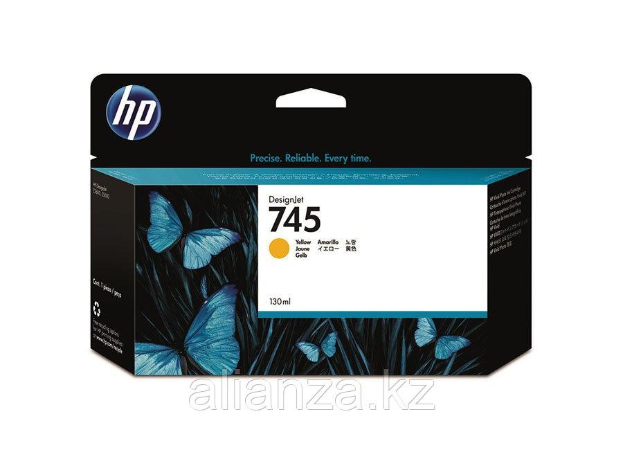 Картридж HP DesignJet 745 Yellow 300 мл (F9K02A)