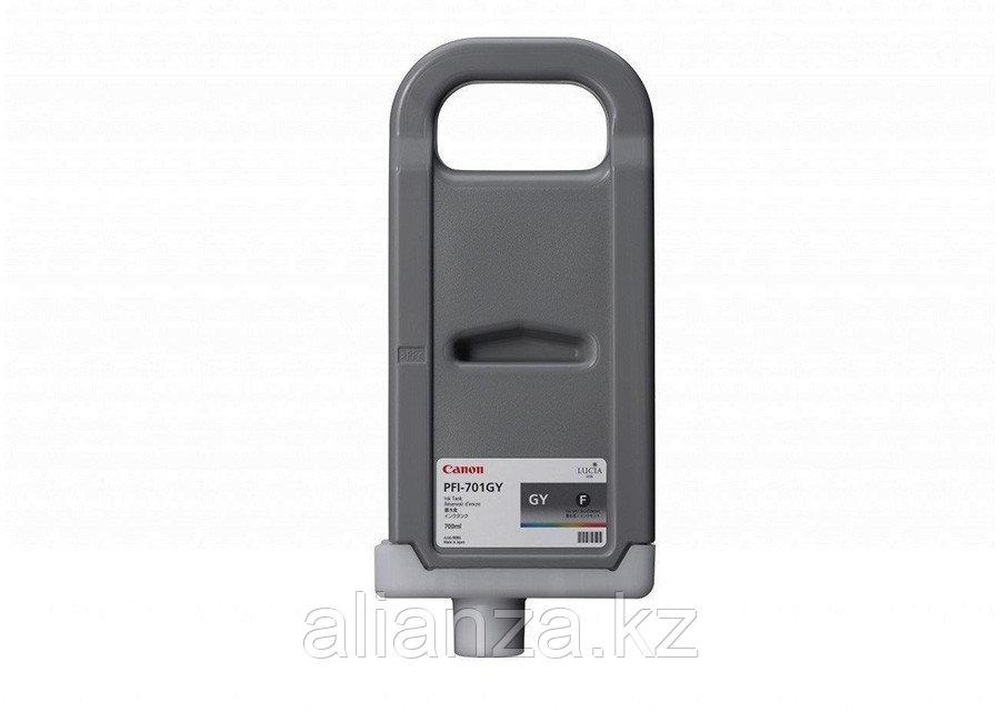 Картридж Canon PFI-701GY Grey700 мл (0909B005)