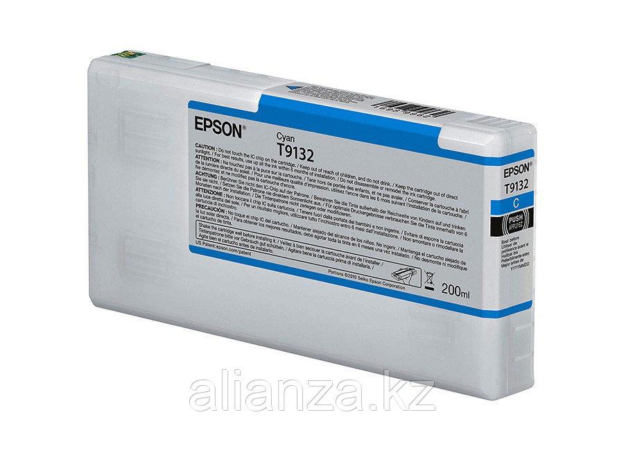 Картридж Epson T9132 Cyan 200 мл (C13T913200)