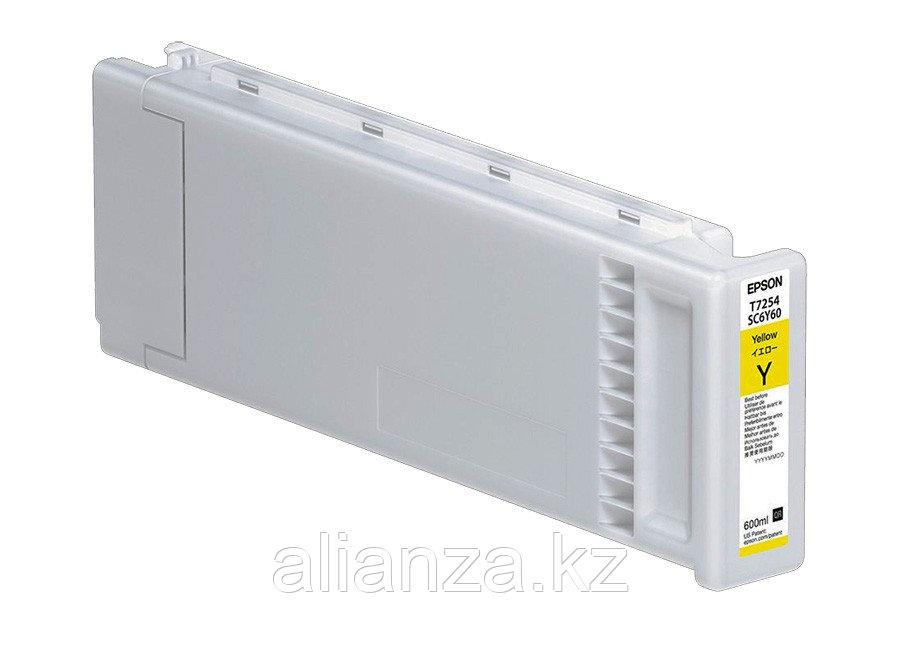 Картридж Epson T7254 Yellow 600 мл (C13T725400)