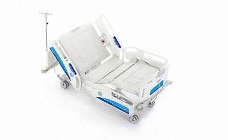 Электрическая реанимационная кровать, 4-х моторная SCH 4040 elite, фото 2