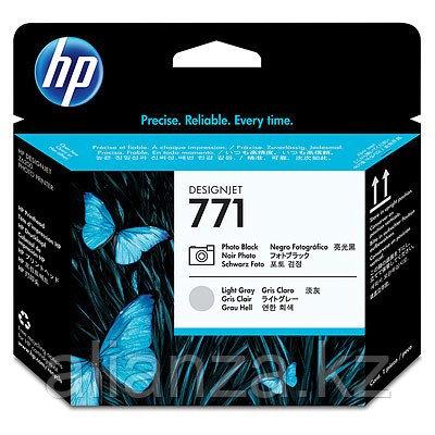 Печатающая головка HP №771 Designjet Photo Black & Light Gray (CE020A)
