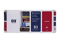Печатающая головка и чистящая станция HP №83 Magenta (C4962A)