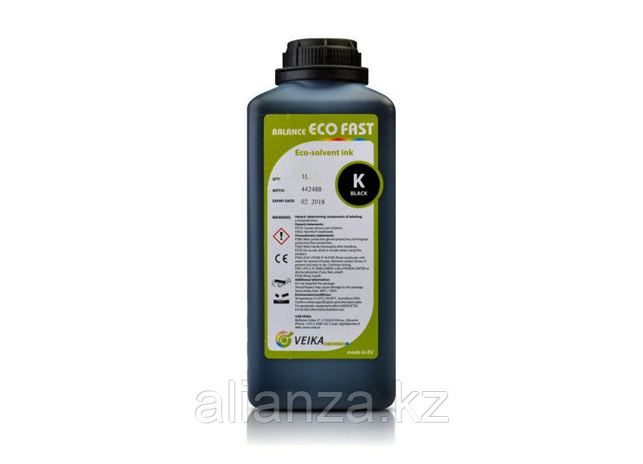VEIKA Balance Eco Fast (Black), 1 л (бутыль)