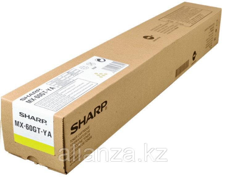 Тонер-картридж Sharp MX-61GTYA
