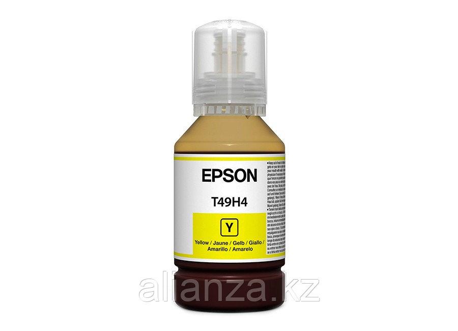 Контейнер с чернилами Epson T49H4 Yellow, 140 мл (бутыль)