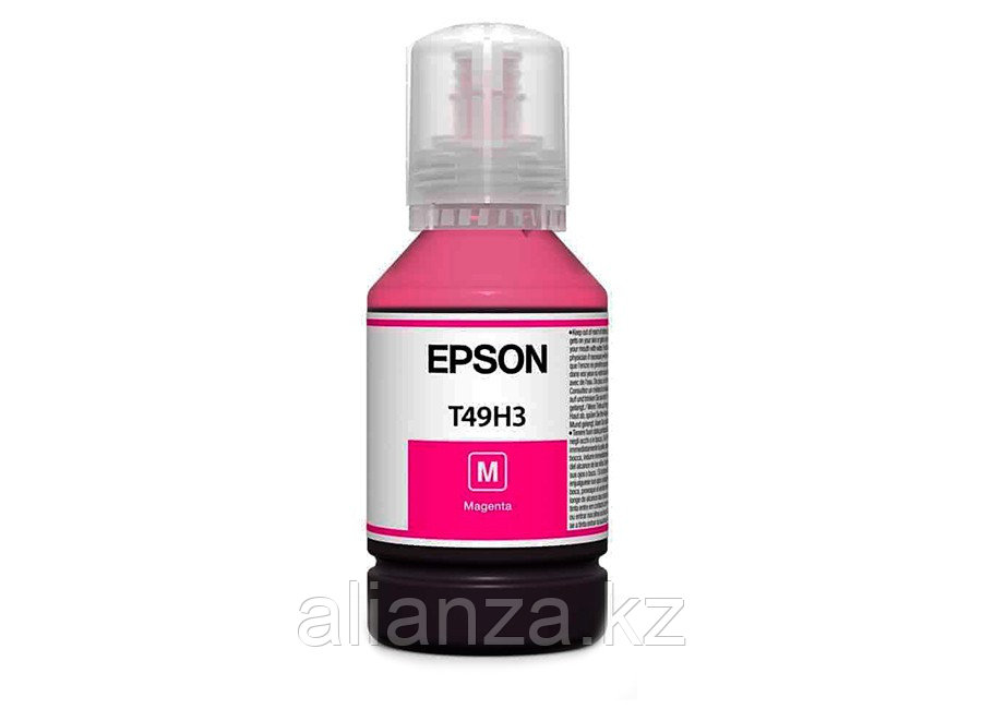 Контейнер с чернилами Epson T49H3 Magenta, 140 мл (бутыль)
