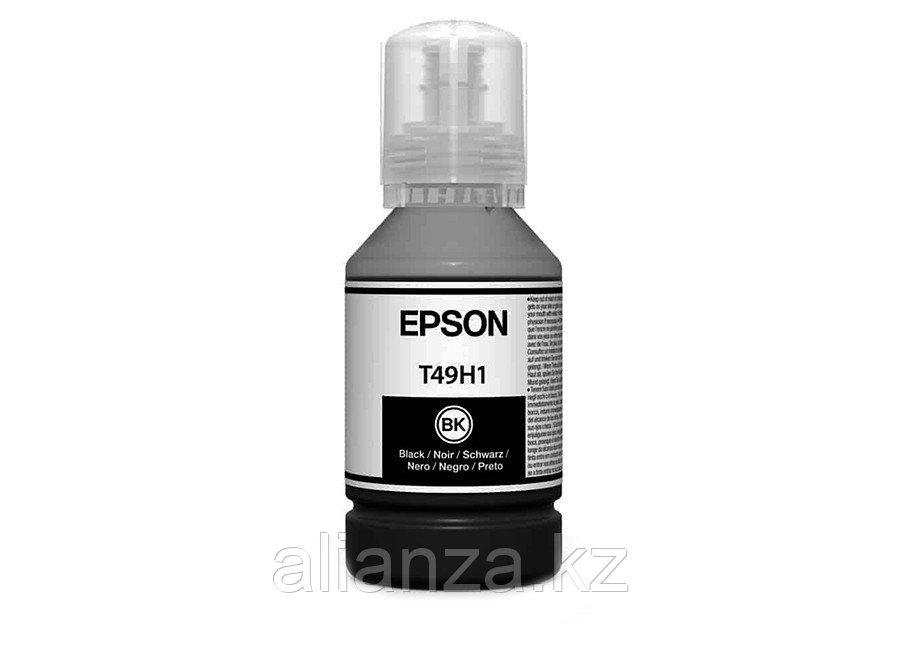 Контейнер с чернилами Epson T49H1 Black, 140 мл (бутыль)