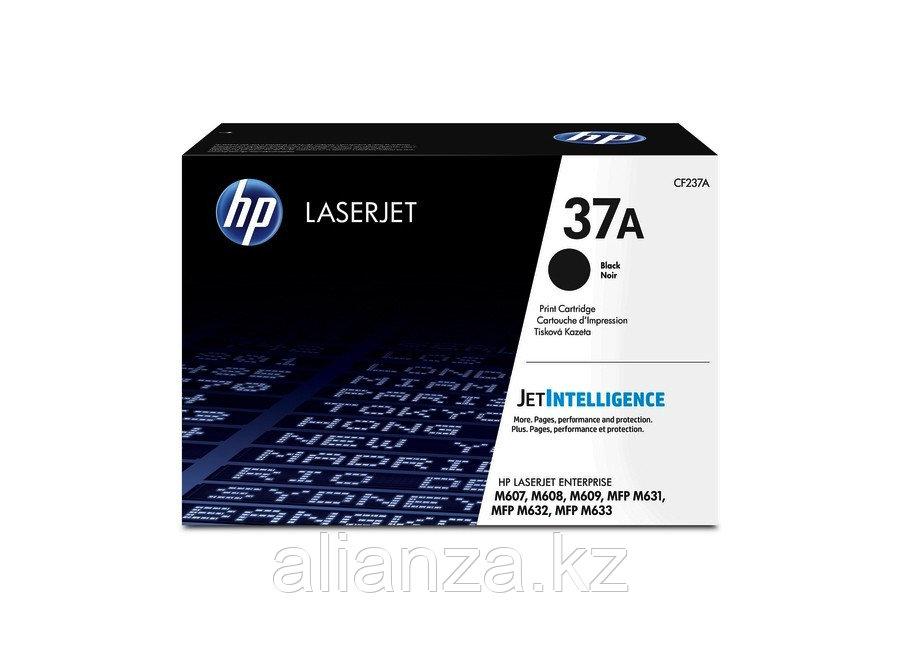 Тонер-картридж HP LaserJet 37A черный (CF237A)