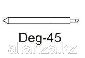 Нож Deg-45 для плотных материалов (угол 45) для плоттеров Graphtec, EasiCut, DGI, Mimaki, Gerber, Muton