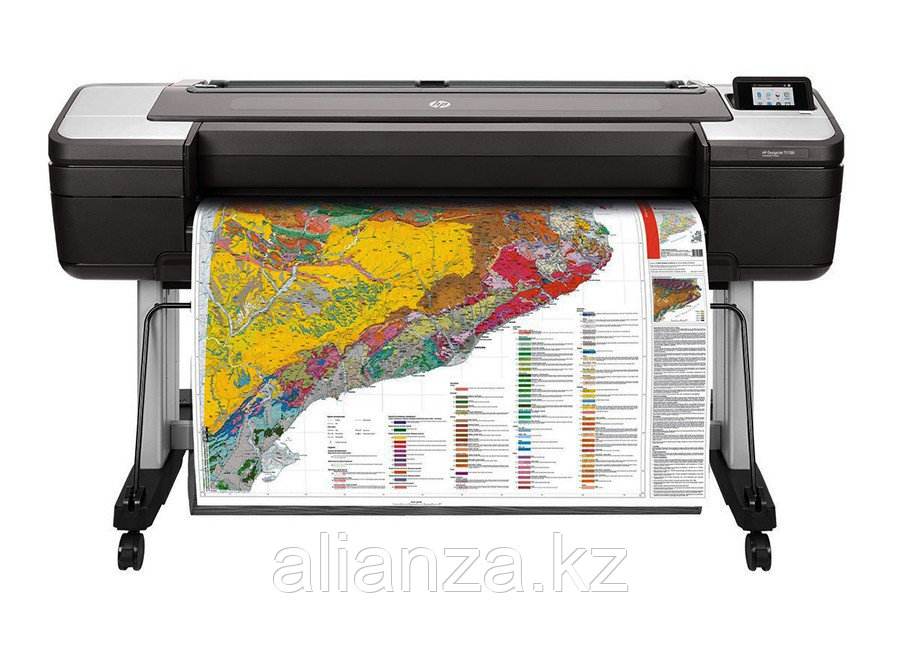 Струйный плоттер HP DesignJet T1700dr 44-in (W6B56A)