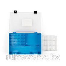 ТИП-8 Коробка с 16 катушкодержателями, вкладыш для мелких предметов и большое отделение для ножниц ТИП-8 Короб