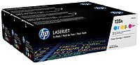 Упаковка картриджей HP 128A CF371AM