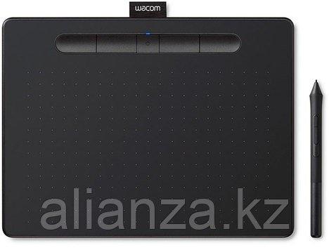 Графический планшет Wacom Intuos S, черный (CTL-4100K-N)