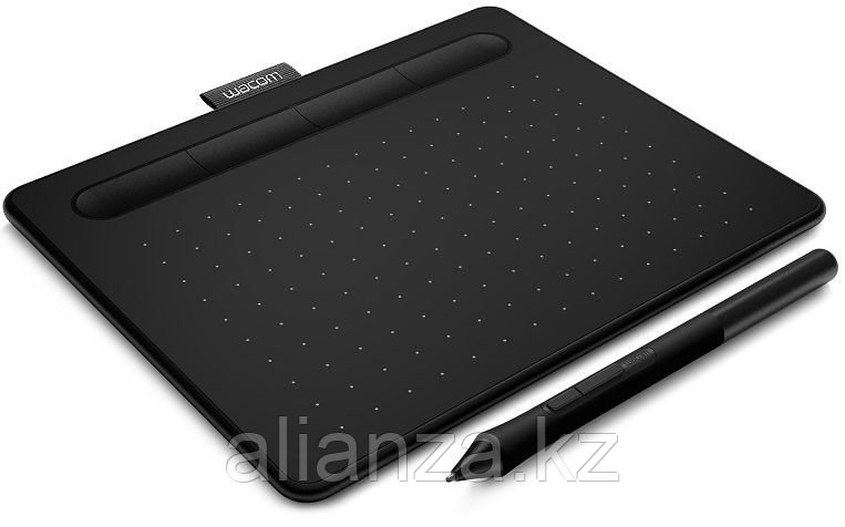 Графический планшет Wacom Intuos S Bluetooth, черный (CTL-4100WLK-N)