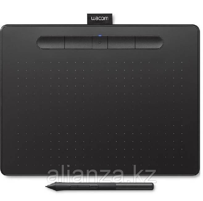 Графический планшет Wacom Intuos M Bluetooth, черный (CTL-6100WLK-N)