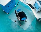 Прозрачный напольный коврик RS-OFFICE 12-075-O
