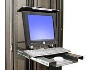 Крепление Складная система крепления Ergotron MD 102 монитора и клавиатуры в 19 рэковую стойку (57-013-200)