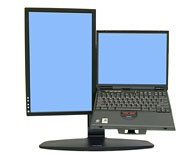 Крепление Ergotron Neo-Flex Lift комбо-стенд для монитора и ноутбука (33-331-085)